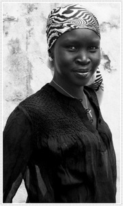 Alek Wek is raising awareness for refugees and returnees in her home country, South Sudan.