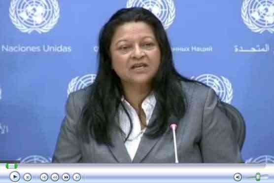 Sheila B. Keetharuth, Situation of Human Rights in Eritrea – Press Conference