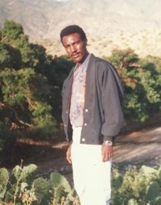Amanuel Asrat. Editor-in-chief of Zemen (a private newspaper) and award-winning poet. Disappeared by government in 2001. Photograph: PEN Eritrea