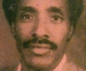Idris Abu'Are. Author and freelance journalist. Disappeared by government 2001. Photograph: PEN Eritrea