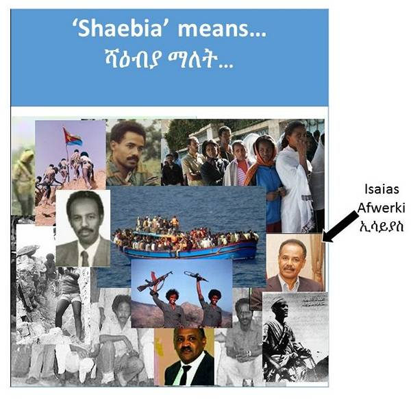 Isaias Afewerki hides behind the term 'Shaebia': a selfless servant of the system